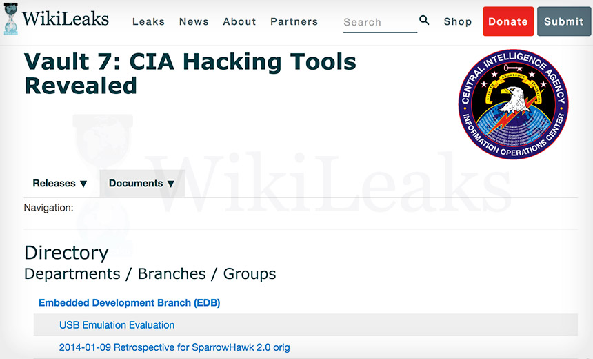 7 Facts: 'Vault 7' CIA Hacking Tool Dump by WikiLeaks