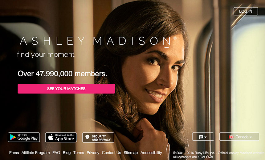 Ashley Madison Slammed by Regulators