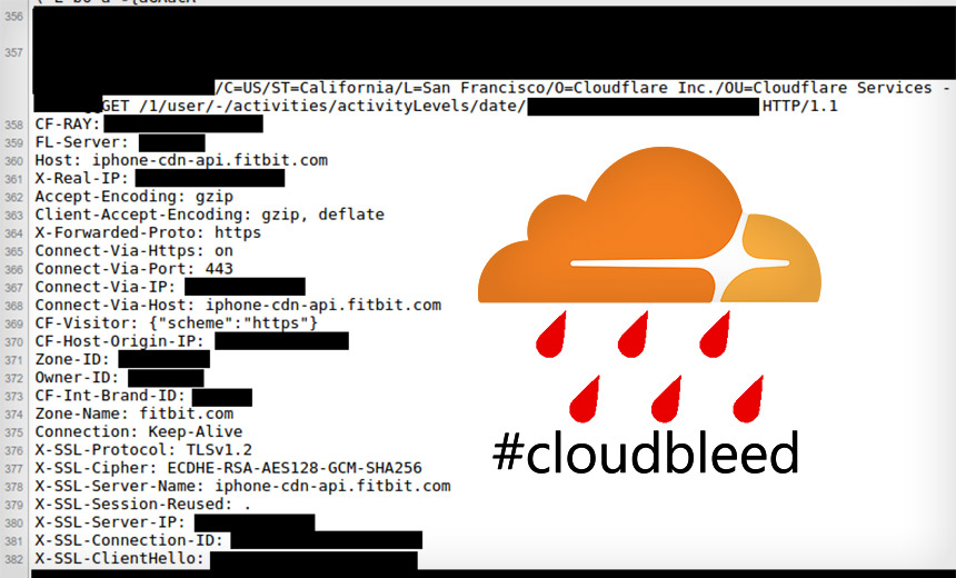 Cloudflare Coding Error Spills Sensitive Data