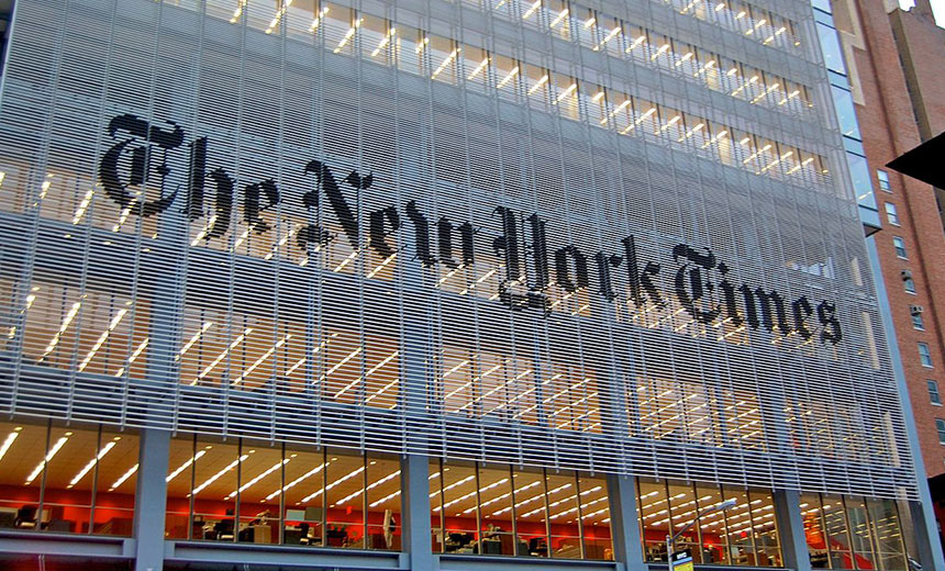 New York Times Reportedly Targeted by Russian Hackers
