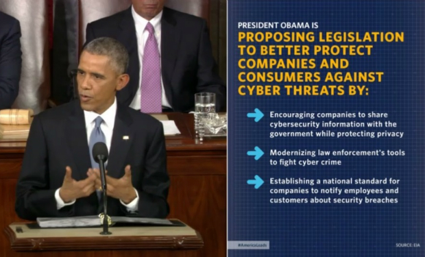 Obama to Congress: Enact Cybersecurity Laws