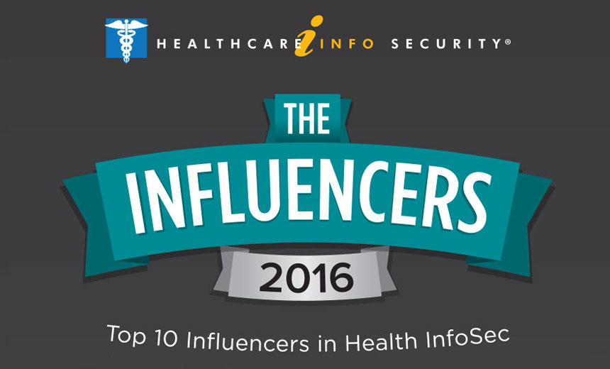 Top 10 Influencers in Health InfoSec