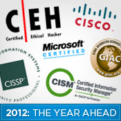 Top 5 Certifications for 2012